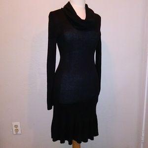 MAGASCHONI Black Cowl Neck Dress